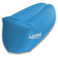 Laybag Rocca, Inflatable Air Lounge Chair, Blue