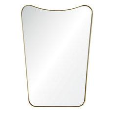Tufa Wall Mirrors, Gold Powder Coated