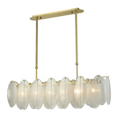 Hush 6-Light Chandelier White
