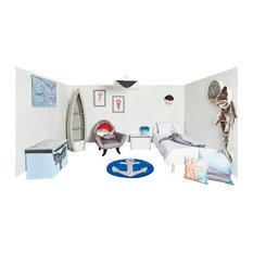 Whaley Good Complete Nautical Room, Blind Size 60x180 Cm
