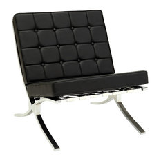 Elian Accent Chair, Black