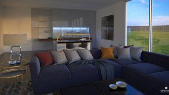 Interior Design,  3D Rendering - North Carolina