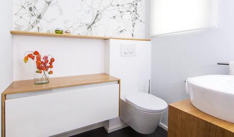 In einer Woche frischgemacht: Ein Gästebad wird modern und wohnlich