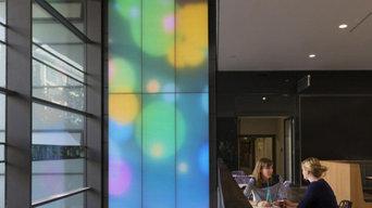 Акустические цветодинамические панели