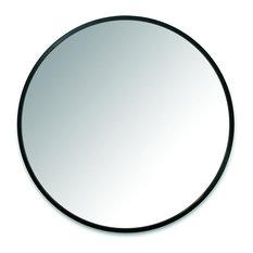 "Hub Round Wall Mirror, 37"""