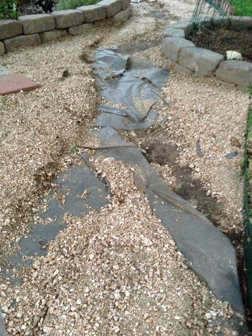 Ideas For Sloped Washed Away Backyard