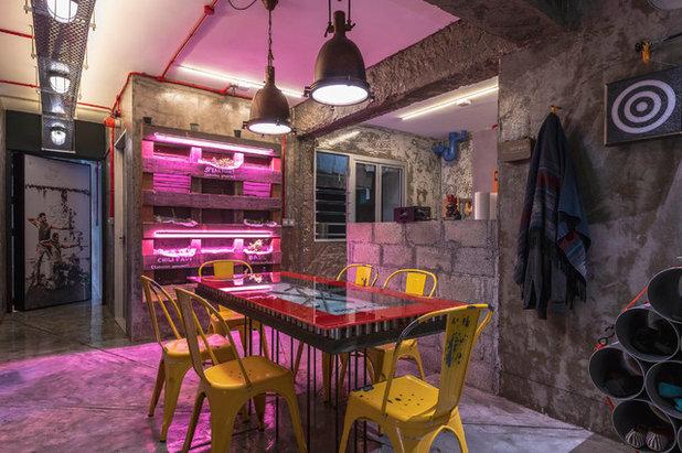 Eclectic Dining Room by ERStudio Pte Ltd