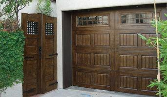 Natural Wood Garage Doors