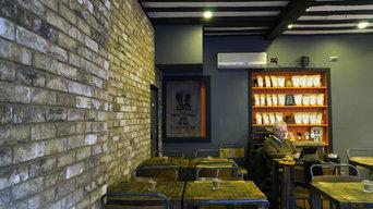 BrickSlips.co.uk - Krema - London Weathered Yellow Brick Slips