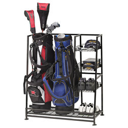 Traditional Garage And Tool Storage by JJ International Inc