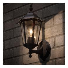 Arun Outdoor Wall Light - Black