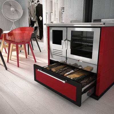 Revival vintage las cocinas de le a vuelven a la casa de - Fotos de cocinas de lena antiguas ...