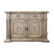 Old World Eclectic Buffet Steohanous, Turquoise And Natural