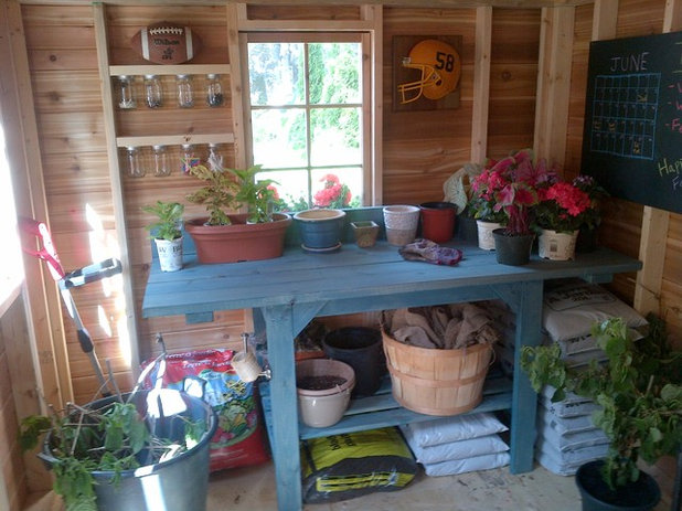 Traditional Shed by Summerwood Products