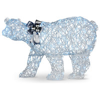 "27"" Pre-Lit Polar Bear Decoration"