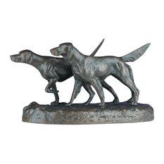 Bird Dogs on Point Sculpture