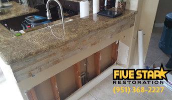 Kitchen Water Damage Clean up