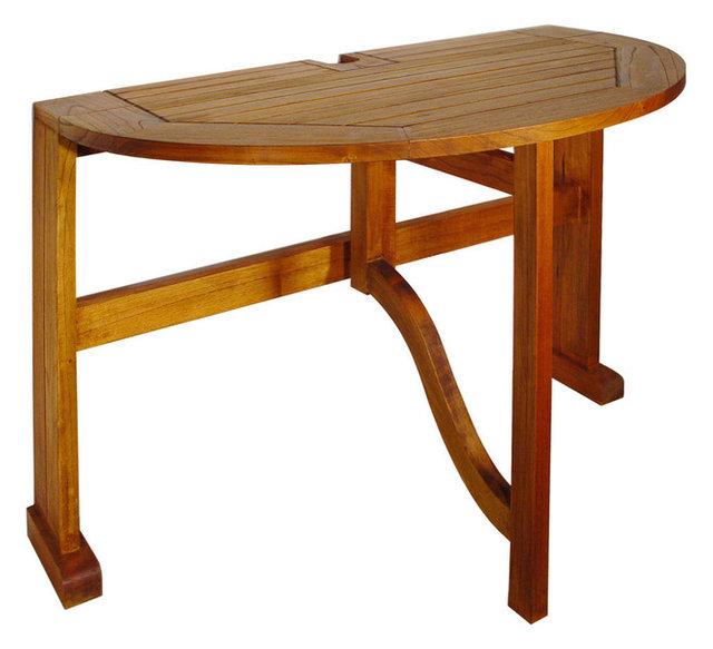 Terrace Mates 36 Caleo HalfRound DropLeaf Gate Leg Table