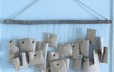 Sweeten Your Days With a DIY Advent Calendar