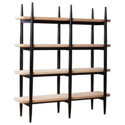 Midcentury Bookcases by Union Home