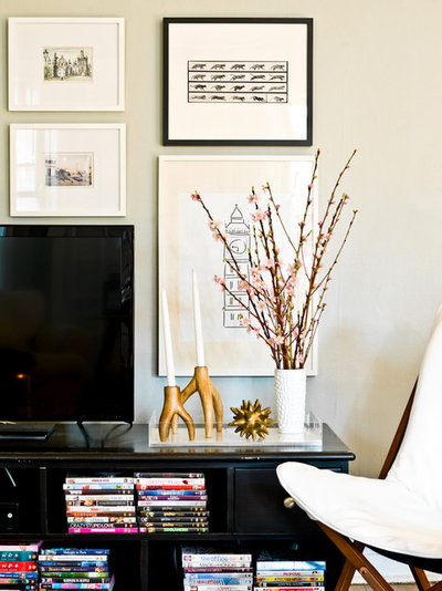 Trendy  My Houzz: Feminine Chic Charms in a Chicago Rental