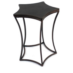Industrial Outdoor Side Tables by BuyDBest