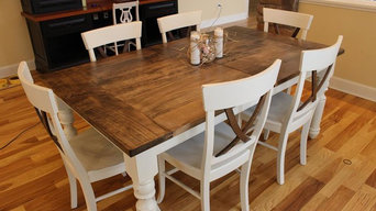 French Country Farmhouse Table