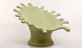Funky fiberglass outdoor furniture