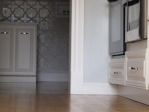 Bold Tile, Sunlight Filled Kitchen