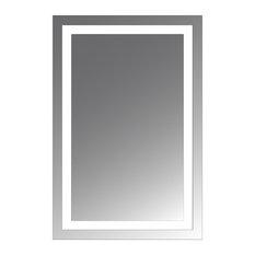 Civis USA - Malisa 30 x30  LED Lighted Mirror - Bathroom Mirrors  sc 1 st  Houzz & Lighted Bathroom Mirrors | Houzz azcodes.com