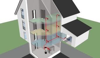 Central Vacuum System Schematic