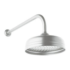 Rohl 8in Single Function Shower Head in Polished Chrome
