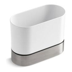 Kohler - Kohler Kitchen Brush Caddy, White - Kitchen Sink Accessories