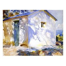 "John Singer Sargent Corfu: Lights and Shadows, 21""x28"" Wall Decal"