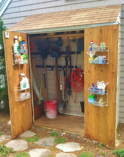 Traditional Shed by Garden Tech Horticultural Services LLC