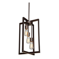 Gastown 3-Light Oil Rubbed Bronze Chandelier