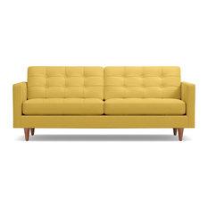 Lexington Button-Tufted Sofa, Gold