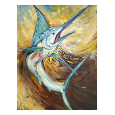 Billfish Flag Canvas House Size