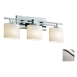 Justice Design Group FSN-8703-30-OPAL Fusion Vanity Light Bathroom Fixture