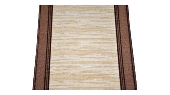 Dean Washable Carpet Rug Runner - Boxer Beige - Purchase By the Linear Foot