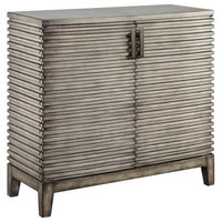 Madison Park Ridge Accent Chest, Gray