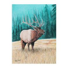 """Mike Bennett Bugler #2 Art Print, 9""""x12"""""""