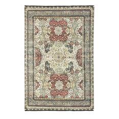 "Traditional Hand Woven Rug, 8'10""x13'4"""