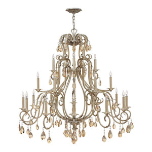 Hinkley Carlton Chandelier Extra Large Three Tier