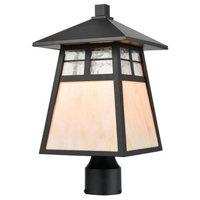 Elk Lighting Cottage - One Light Outdoor Post Mount
