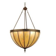 Meyda Lighting 25 Gothic Beige Iridescent Inverted Pendant