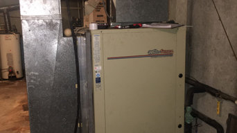 Installation of a new geothermal heating and cooling in St. Joe Indiana
