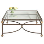 Chelsea House - Chelsea House Coffee Table, Bronze, Gold Accents - Product Details
