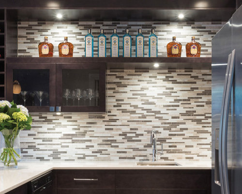 Diseño Backsplash Bar
