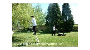 Gardening Services Warrington